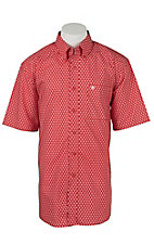 Ariat Men's Jameson Red Print Western Shirt
