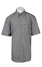 Ariat Men's Johnny Grey Print Western Shirt