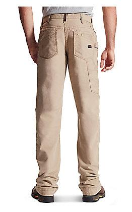 Ariat Men's M4 Khaki Low Rise Workhorse Boot Cut FR Pant