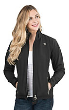 Ariat Women's Black Soft Shell Bonded Jacket