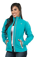 Ariat Women's Turquoise Soft Shell Bonded Jacket