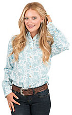 Ariat Work FR Women's Print Long Sleeve Flame Resistant Work Shirt