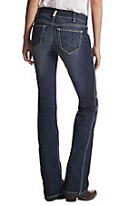 Ariat Women's Real Denim Ella Mid Rise Boot Cut Jean