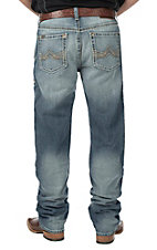 Ariat Men's Light Wash M2 Relaxed Boot Cut Jeans