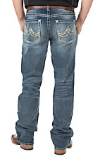 Ariat Men's Medium Wash M6 Slim Fit Boot Cut Jeans