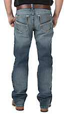 Ariat Men's Light Wash M4 Low Rise Boot Cut Jeans
