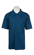 Ariat Men's Everland Teal Heat Series Tek Polo Shirt