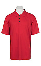 Ariat Men's Red Sun Heat Series Tek Polo Shirt