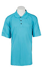 Ariat Men's Waterfall Heat Series Tek Polo Shirt