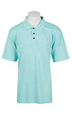 Ariat Men's Aruba Blue Heat Series Tek Polo Shirt