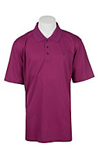 Ariat Men's Damsel Violet Heat Series Tek Polo Shirt