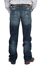 Ariat Men's Riverton Wash M4 Austin Open Pocket Low Rise Boot Cut Jeans