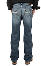 Ariat Men's M4 Medium Wash Low Rise Boot Cut Jeans