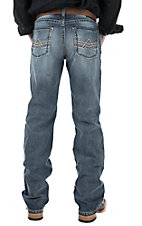 Ariat Men's Medium Wash Slim Fit Straight Leg Jeans