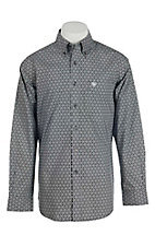 Ariat Men's Black Medallion Print Long Sleeve Western Shirt