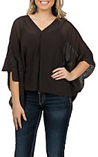 Ariat Women's Brown Clara Flowy Tunic Fashion Shirt