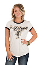 Ariat Women's Ranger Steer Head Tee