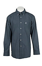 Ariat Men's Oxbow Indigo Print L/S Western Shirt