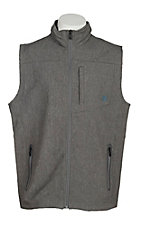 Ariat Men's Chracoal Soft Shell Vest