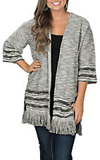 Ariat Women's Heather Grey Bella Sweater Cardigan