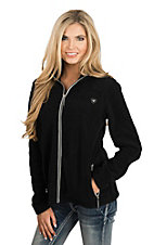Ariat Women's Black Fleece Full Zip Jacket