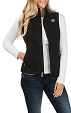 Ariat Women's Black Team Soft Shell Vest
