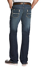 Ariat Men's M5 TEK Stretch Cooper Nightfall Dark Wash Slim Straight Jeans