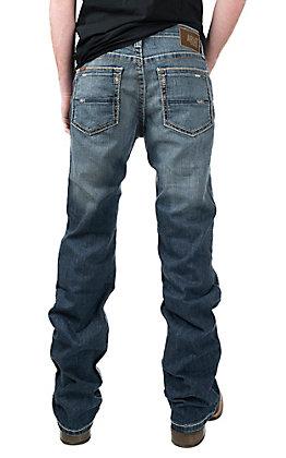 Ariat M4 TEK Stretch Men's Phoenix Tek Low Rise Fashion Boot Cut Jeans