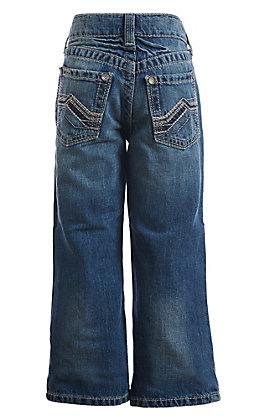 Ariat Boys B4 Medium Wash Cody Dakota Relax Boot Cut Jeans