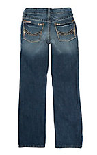 Ariat Boy's Medium Wash Slim Fit Straight Leg Jeans