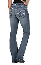 Ariat Women's Real Boot Cut Multi Stitch Jeans