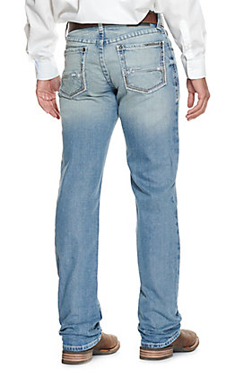 Ariat Men's M2 Stirling Shasta Light Wash Slim Fit Boot Cut Jeans