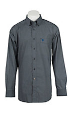 Ariat Men's Borden Night Print L/S Western Shirt