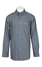 Ariat Men's Grey Atmore Jetty L/S Cavender's Exclusive Western Shirt