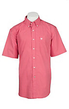 Ariat Men's Lacquer Red Print S/S Western Shirt