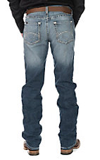 Ariat Men's Medium Wash Low Rise Straight Leg Jeans