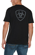 Ariat Men's Black Corporate Short Sleeves T-Shirt