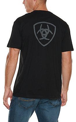 Ariat Men's Black Corporate Short Sleeves T-Shirt