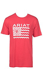 Ariat Men's Red Old Glory Short Sleeve T-Shirt