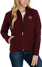 Ariat Women's Maroon Softshell Team Cavender's Exclusive Jacket