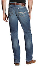 Ariat Men's Medium Wash M2 Riley Fargo Stretch Boot Cut Jeans
