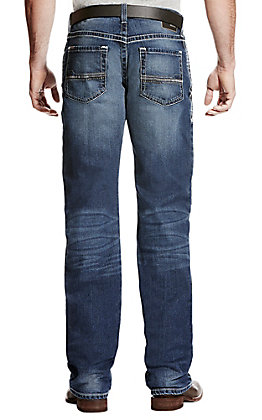 Ariat Men's M4 Dawson Summit Stretch Relaxed Boot Cut Jeans