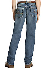 Ariat Boys' Medium Wash Austin Durango Slim Straight Jeans