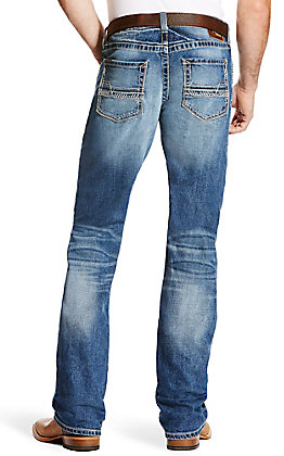 Ariat Men's M5 Stillwell Slim Fit Stackable Straight Leg Stretch Jean - Extended Sizes (42-44)