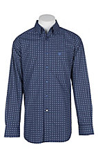 Ariat Men's Navy Dresden L/S Western Shirt
