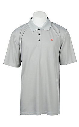 Ariat Men's Silver Lining Heat Series Tek Polo Shirt