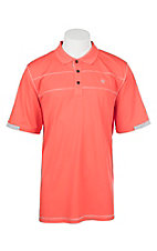 Ariat Men's Coral Heat Series Tek Polo Shirt