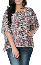 Ariat Women's Jessa Aztec Print Fashion Shirt