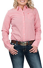 Ariat Women's REAL Coral Kirby Stripe Stretch Western Shirt
