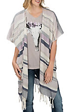 Ariat Women's Multi-Color Wandering Stripe Wrap Kimono